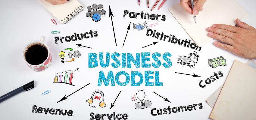 Werken met een businessmodel is pure tijdwinst